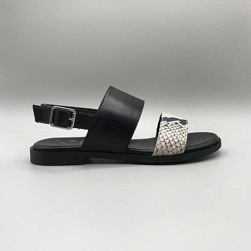 KMB – Sandale A5402, crotalo black