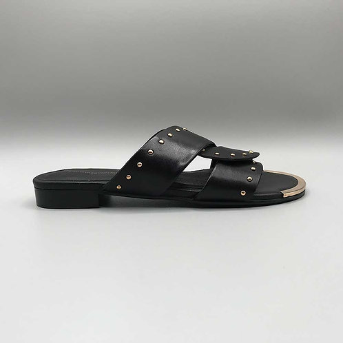Copenhagen shoes – Slider Spring Time, black