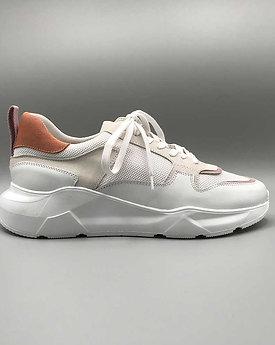 KMB – Sneaker A5137, napa blanco