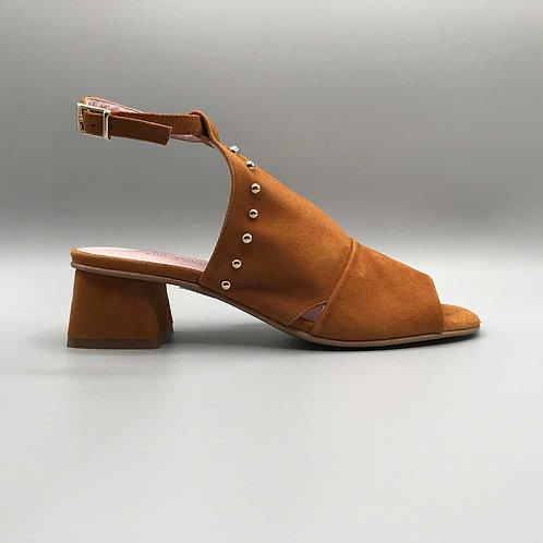 Copenhagen shoes – Sandalette Rafael, cognac