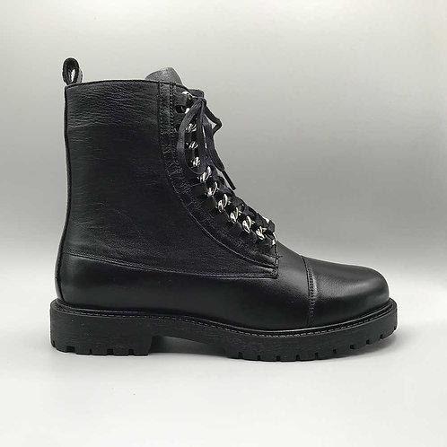 Copenhagen shoes – Schnürboots Rock, black