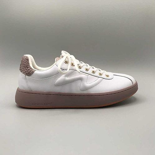 Woden – Sneaker Astrid, white-bark