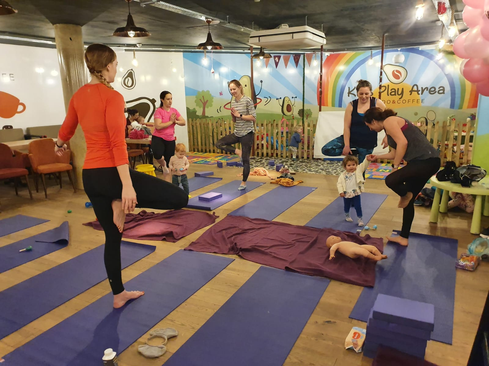 Parent Yoga with Toddlers