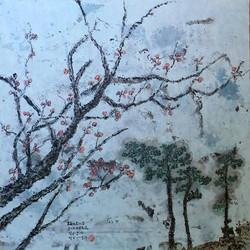 Pine and plum blossom