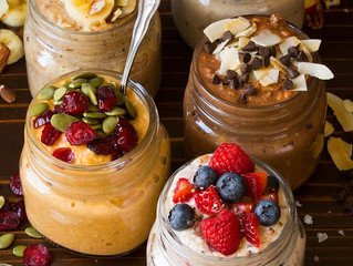Overnight oats are a great way to meet your nutritional needs for your first meal of the day and as