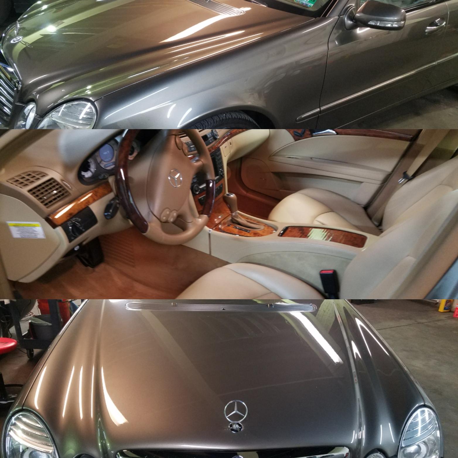 Mercedes E350 Full Detail