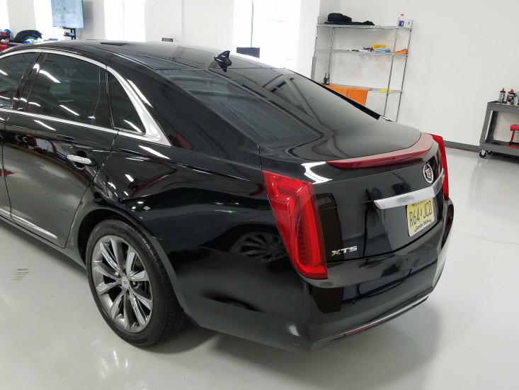 Cadillac XTS with Klasse High Gloss Sealant Glaze