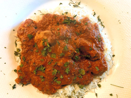 Vegetarian or Vegan Tikka Masala