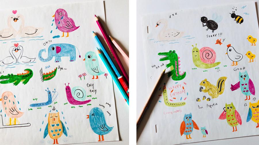 Animal Friends (Kakaotalk Emoticon)