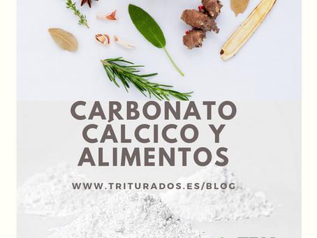 CARBONATO CÁLCICO Y ALIMENTOS