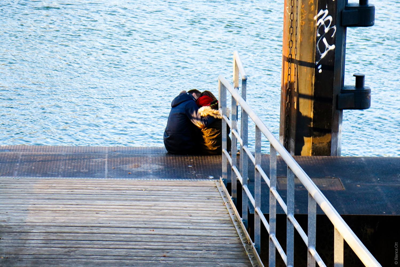 Liebende am Rhein