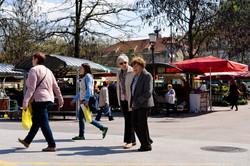 Frauen im Ljubljana