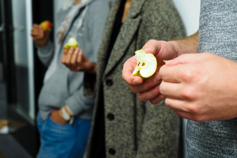 Apfelhände