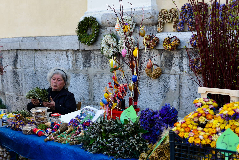 Blumenmarkt in Ljubljana