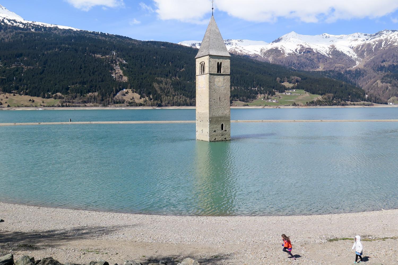 Kinder_Kirchturm_See