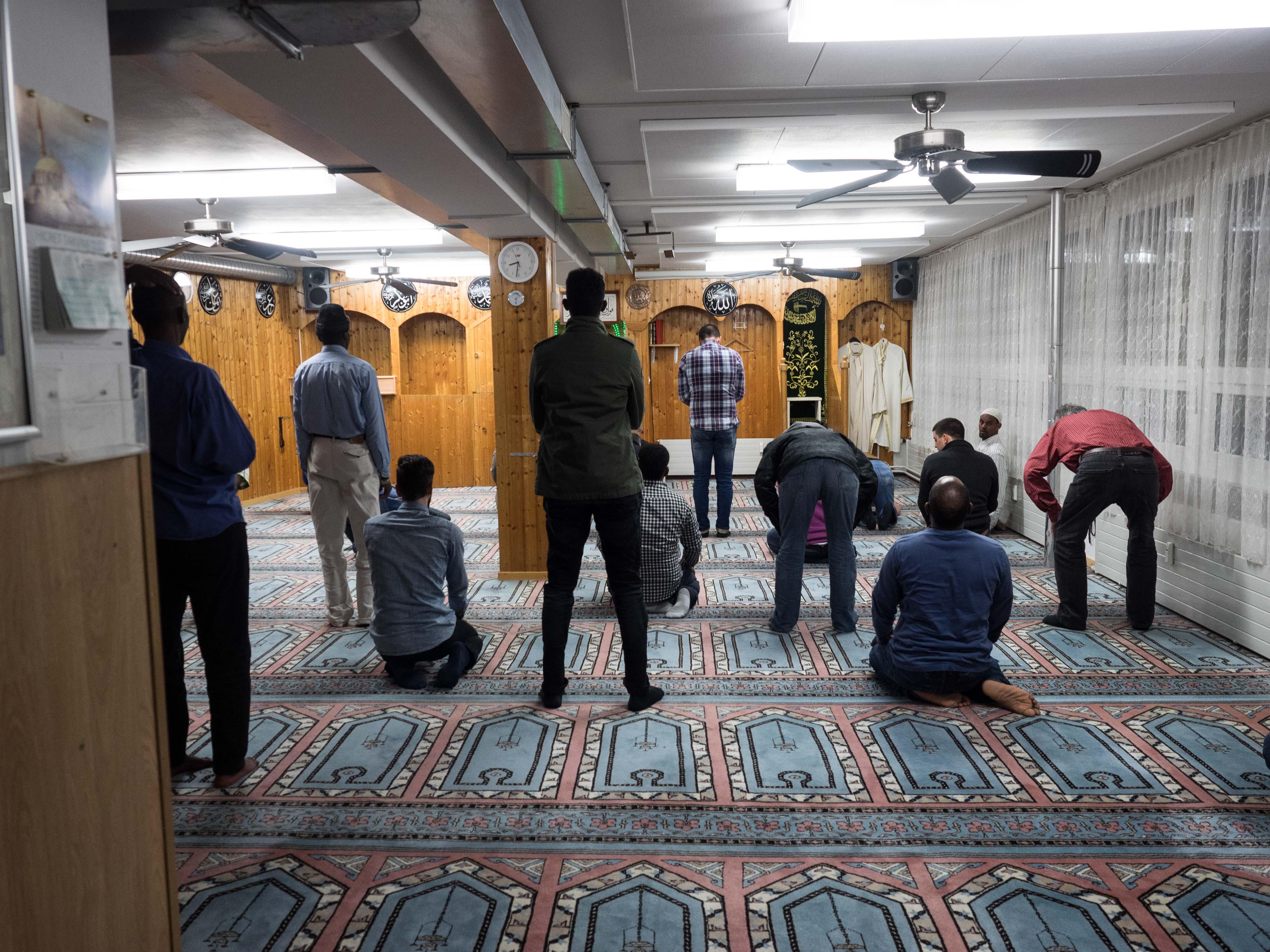 Besuch Hicret Moschee Basel