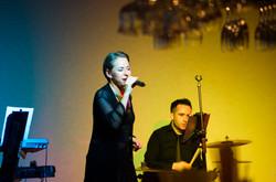Sängerin in Tekirova