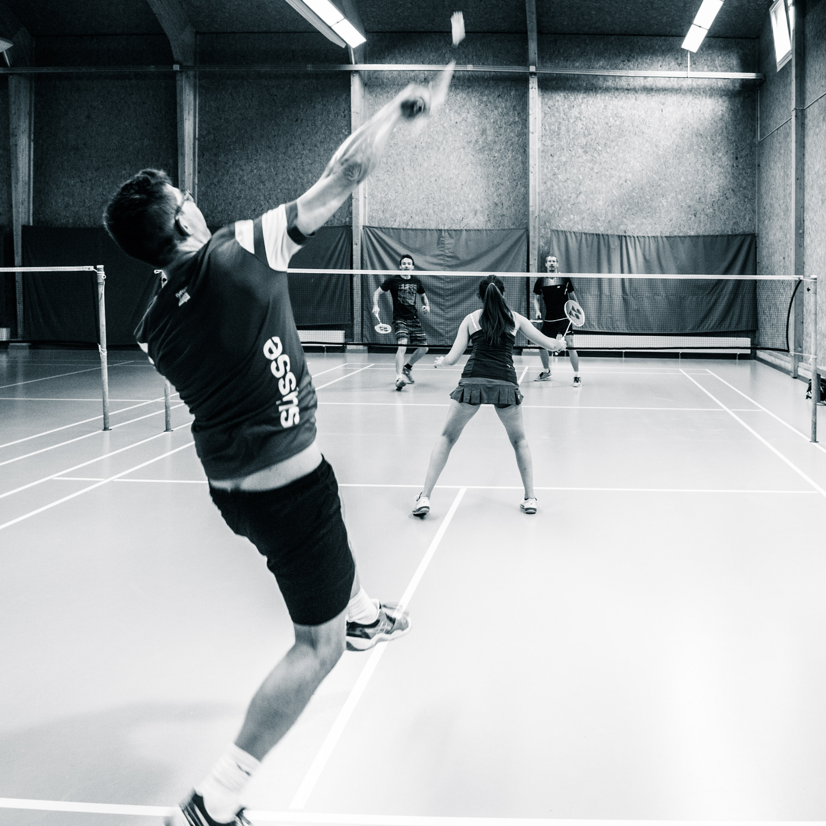 Badmintontraining Kappel-29