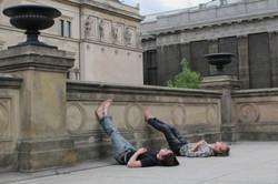 Barfüssig in Berlin