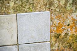 Detail von «ars gratia artis» - Wand