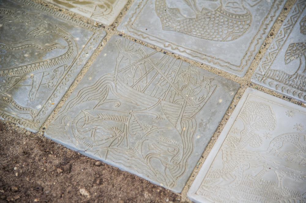 Detail «ars gratia artis» - Boden