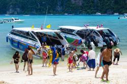 Touristen in Thailand