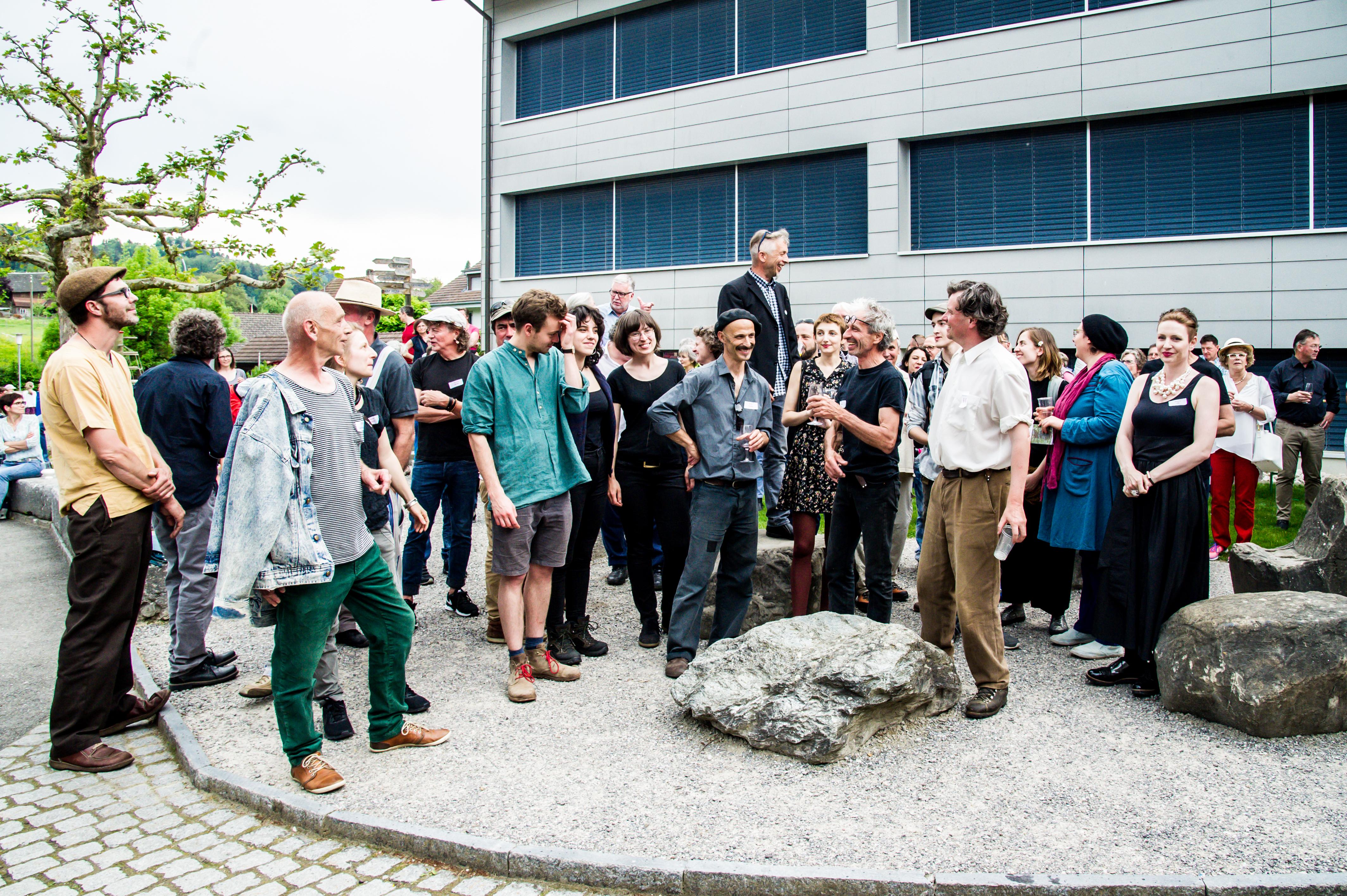 Kunst am Schlossberg  - Vernissage