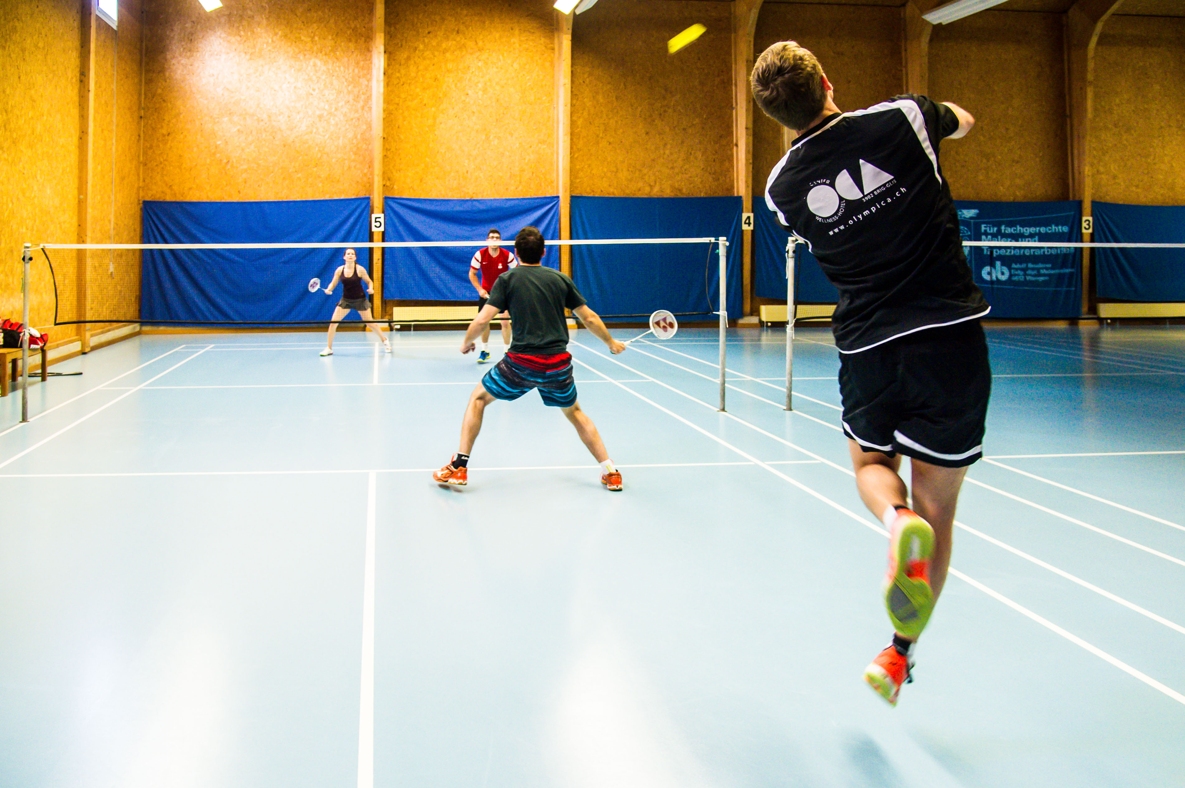 Badmintontraining Kappel-28
