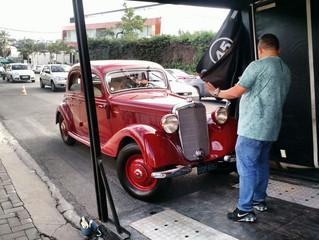 Salão do Automóvel teve carros clássicos; e a Work Car trabalhou junto com a Mercedes-Benz para o tr