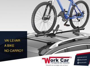 Vai levar a bike no carro?
