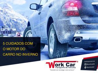 5 Cuidados com o motor do carro no Inverno