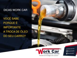 Porque preciso trocar o óleo do meu carro?