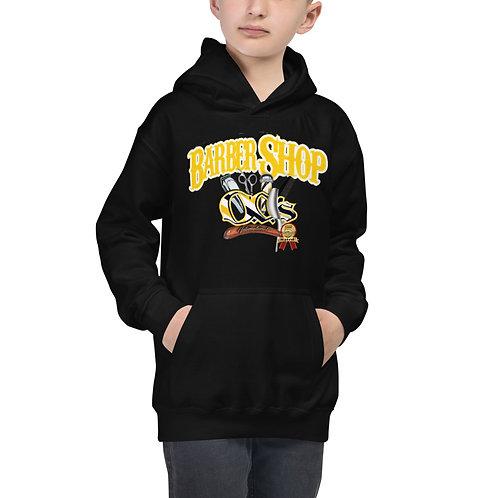 Black & Yellow O.G.'S Logo Kids Hoodie