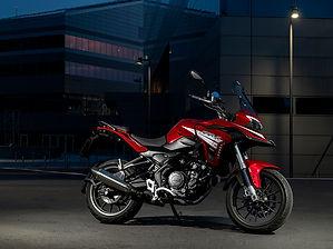 Benelli TR 251 - promoción regalo maletas - CRB Motor Terrassa concesinario oficial de motos