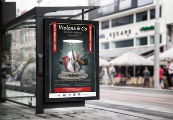 Affiche Violons & Co