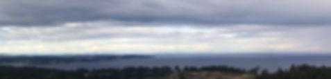 Victoria, BC panorama aerial photo
