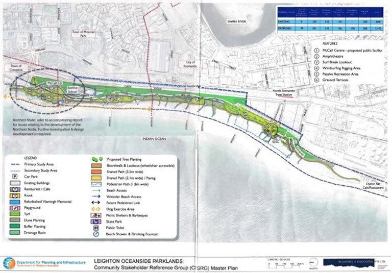 Leighton Oceanside Parklands Masterplan