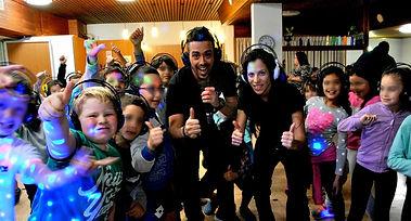 מסיבת אוזניות לילדים