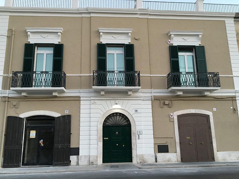 La casa nel sole B&B Bari - prospetto