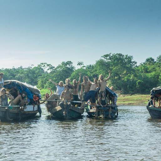 "Ep.17 河上還有""河""盜🏴☠️?Truman 在亞馬遜河彩虹大蓬船冒險故事Truman's Amazon Rainbow Caravan Adventure"