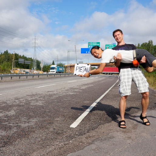 Ep.26 搭便車橫跨歐亞之旅 Part 2:波蘭 ➡️ 台灣 ft. Truman / Into The Wild hitchhiking series: Part 2