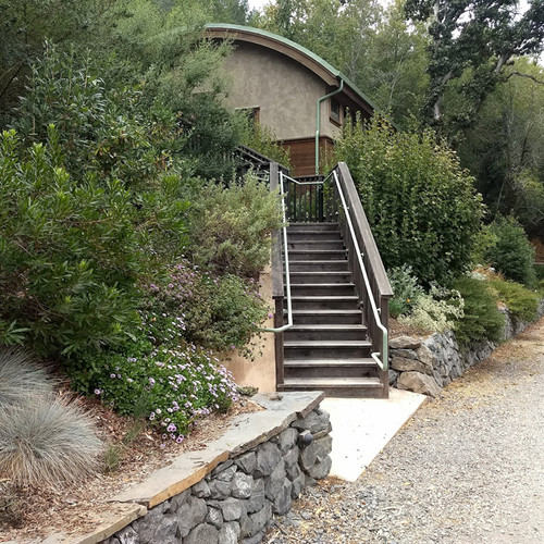 Guest Housing at Occidental Arts & Ecology Center
