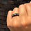 Thumbnail: H725 - Anel Duplo Navete Amarelo Intercalado com Zircônia