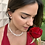 Thumbnail: H2265 - Brinco Coração Branco Pequeno Esmaltado