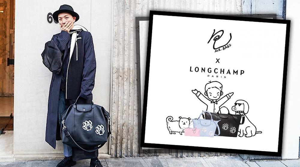 L'influenceur Mr Bag et sa collaboration avec Longchamp