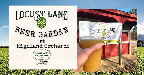 Copy of Locust Lane Beer Garden at Highl
