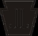 Locust Lane (initials keystone) black.pn