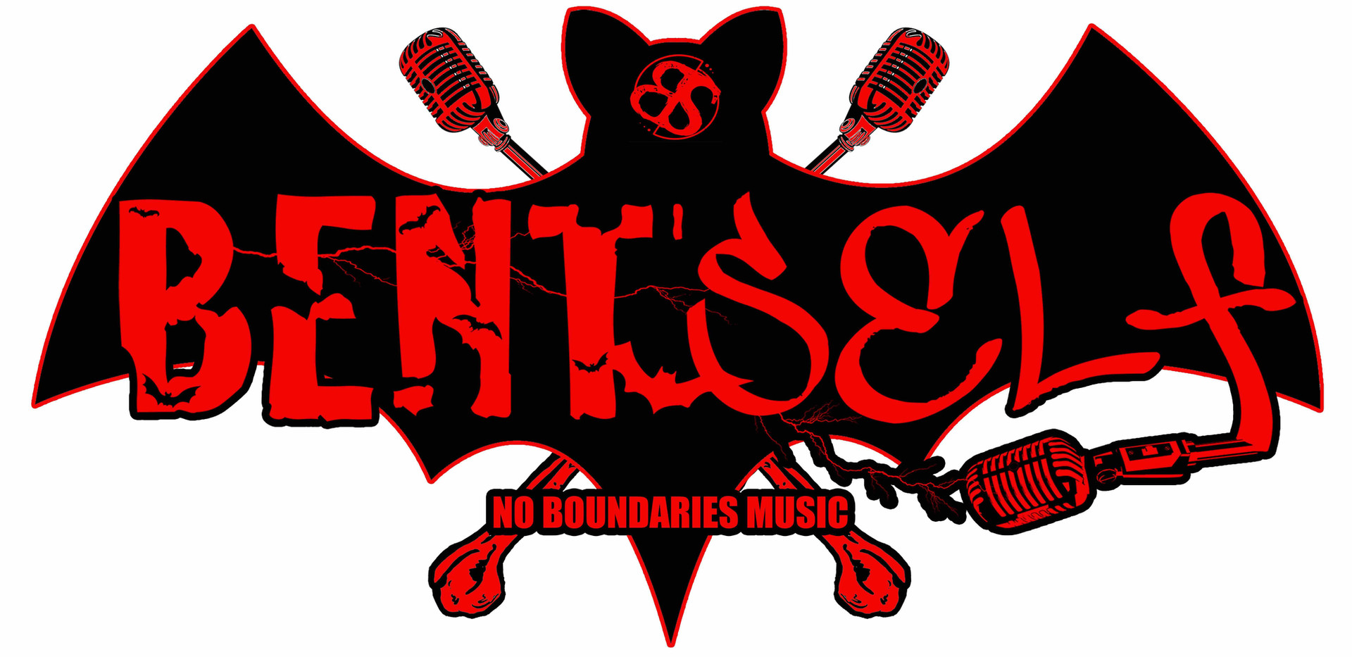 Bent Self Bat Logo