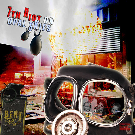 Bent Self's second full length album 7th Riot On Opal Skies released 2012.