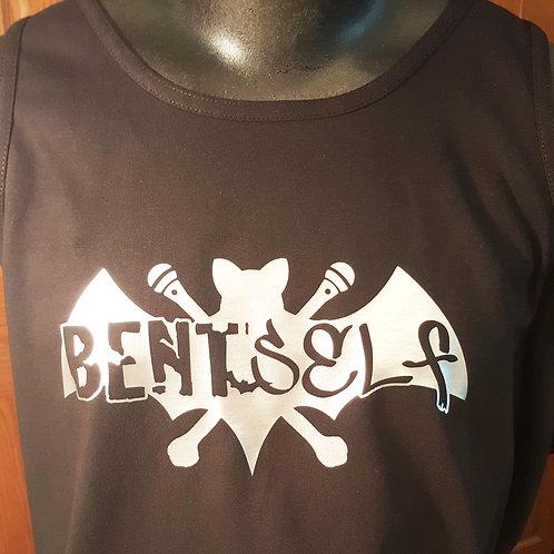 Bent Bat -Tank Top (silver)